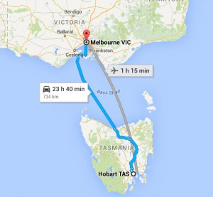 Melbourne to Hobart Removalists