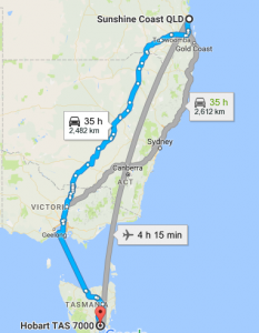 sunshine-coast-to-hobart-removalists