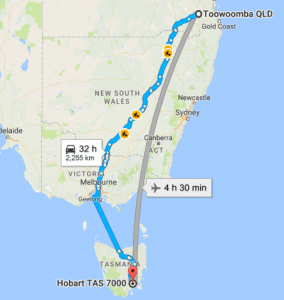 toowoomba-to-hobart-removalists